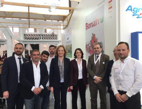 Bonafrú promociona sus frutos rojos en la 25 edición de Fruit Logística de Berlín